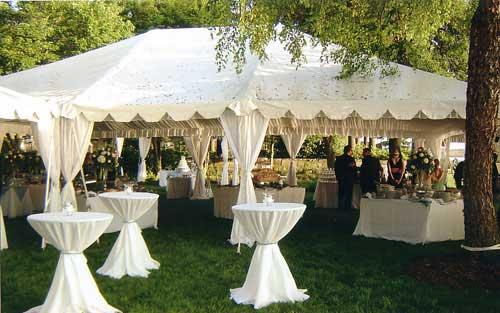 Шатри под наем за сватбени събития
